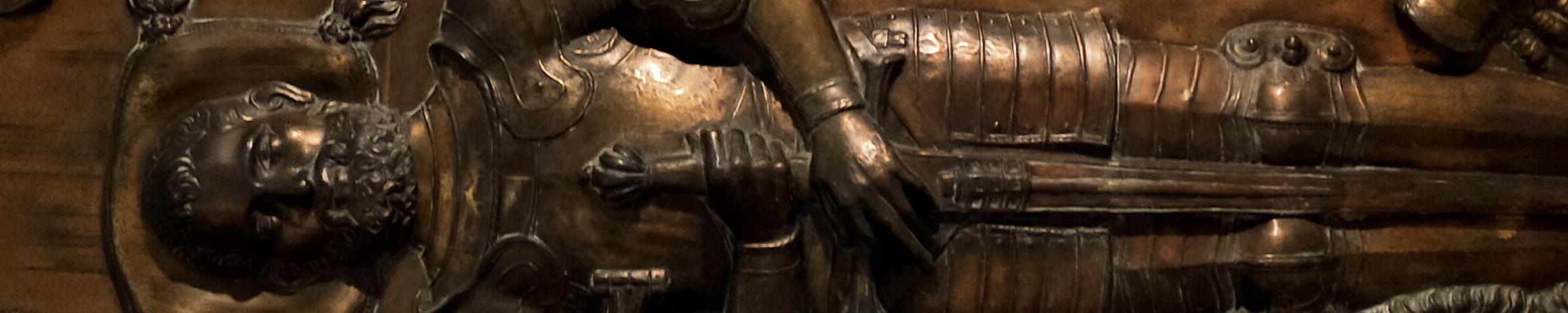 Nuestro patrimonio: Lauda sepulcral de Pedro de Bolivar